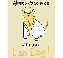 Science with LabDog Photographic Print