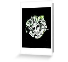 Suicide squad Greeting Card