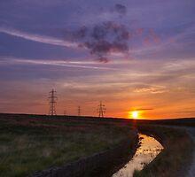 Sunset pylon by chris2766