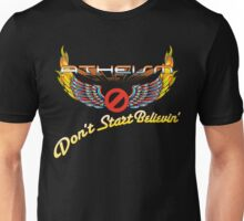 ATHEISM - Don't Start Believin'! Unisex T-Shirt