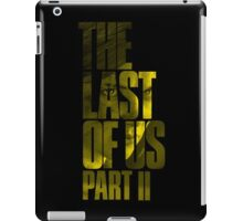 "The Last Of Us Part 2 ""Vengeful Ellie"" (yellow) iPad Case/Skin"