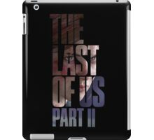 "The Last Of Us Part 2 ""Vengeful Ellie"" iPad Case/Skin"