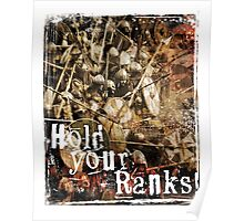 Hold Your Ranks! Poster