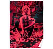 badland muse, rockband Poster