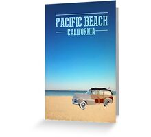 Pacific Beach - California Greeting Card