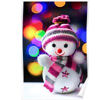 Snowman Toy Poster