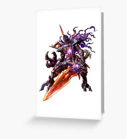 Nightmare Soul Calibur Greeting Card