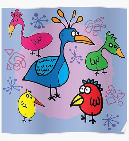 Bird Brains 03 Poster