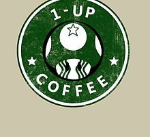 1-UP COFFEE by MinxMacabre