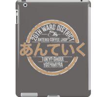 Anteiku Coffee Shop iPad Case/Skin