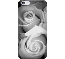 ROSES IN BLACK AND WHITE - TO THE ONE I LOVE! iPhone Case/Skin