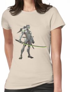 OVERWATCH GENJI Womens Fitted T-Shirt
