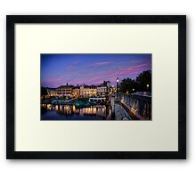 Richmond By The River, London Framed Print