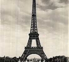 Vintage Eiffel Tower Paris by stine1