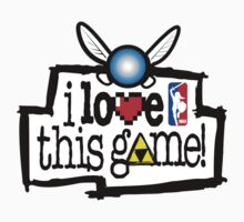 I love this Game ( Zelda) Kids Tee