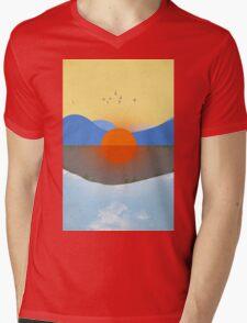 KAUAI No Text Mens V-Neck T-Shirt