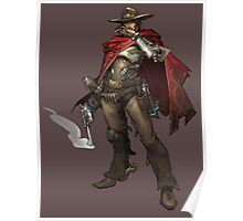 OVERWATCH MCCREE Poster