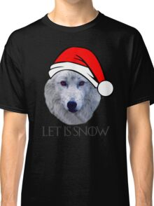 Let It Snow Ghost Classic T-Shirt