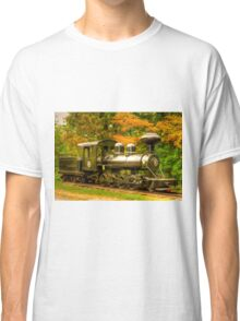 Old Train Engine Classic T-Shirt