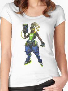 OVERWATCH LUCIO Women's Fitted Scoop T-Shirt