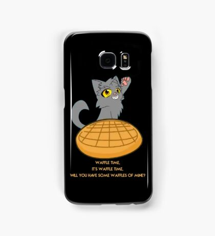 Graystripe wants you to have a waffle Samsung Galaxy Case/Skin