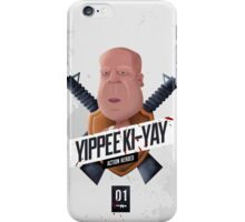 Yippee Ki Yay Modern iPhone Case/Skin