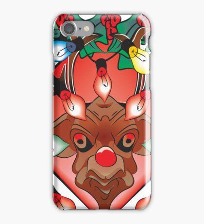 Unhappy Reindeer - #2 iPhone Case/Skin
