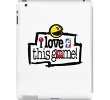 I love this game ( Pac-man) iPad Case/Skin