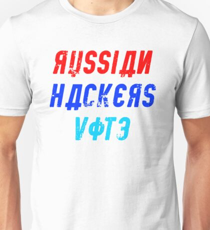 Russian Hackers Vote Unisex T-Shirt