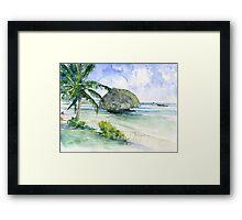 Bathseba Barbados Framed Print