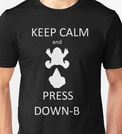 Wario DOWN-B Unisex T-Shirt