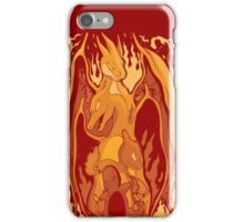 Charizard - Carmeleon - Charmander - Pokemon iPhone Case/Skin