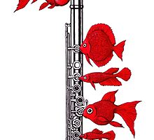 Fish and Flute by Vitaliy Gonikman
