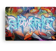 Skqwerkle - Full Colour | Graffiti Mural Canvas Print