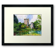 Blarney Castle Ireland Framed Print