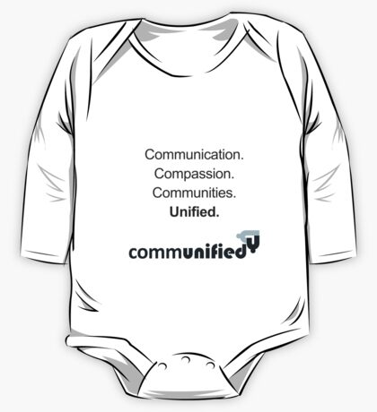 Communication. Compassion. Communities. Unified. One Piece - Long Sleeve