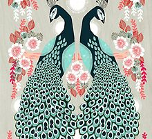 Peacocks by Andrea Lauren  by Andrea Lauren