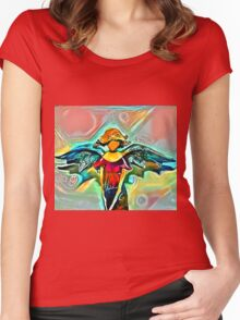 Hark the Herald Angels Sang Women's Fitted Scoop T-Shirt