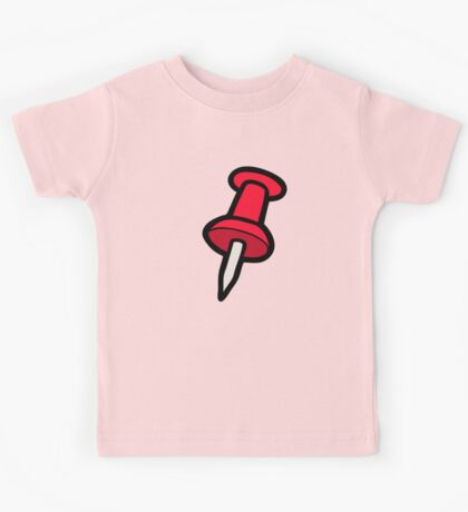 Map Tack Pattern Kids Tee