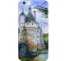 Chenonceau Castle France iPhone Case/Skin