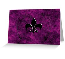 Saints row Greeting Card