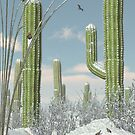 Christmas at Saguaro by Ken Gilliland