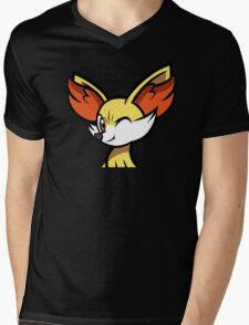 Fennekin Mens V-Neck T-Shirt