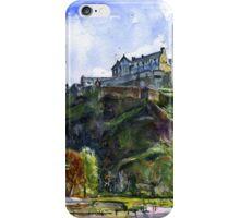 Edinburgh Castle Scotland iPhone Case/Skin