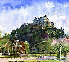 Edinburgh Castle Scotland by LifePortraits