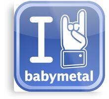 Parody logo Metal Print