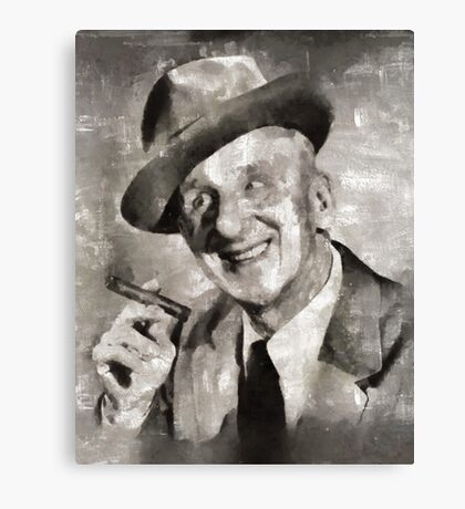 Jimmy Durante, Comedian Canvas Print