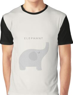 Cute Elephant | Animals Graphic T-Shirt