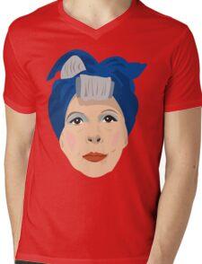 Ruth Gordon Minnie Castevet from Rosemary's Baby Mens V-Neck T-Shirt