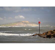 Golden Cap Charmouth Dorset Photographic Print